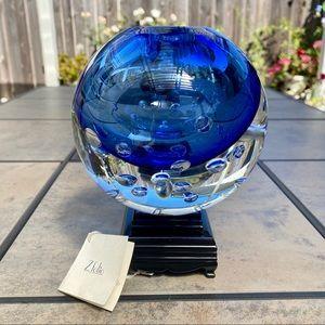 Beranek • Vladimir Svab Signed Czech Art Glass 7lb
